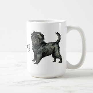 私は私のアーフェンピンシャーを愛します コーヒーマグカップ
