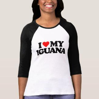 私は私のイグアナを愛します Tシャツ
