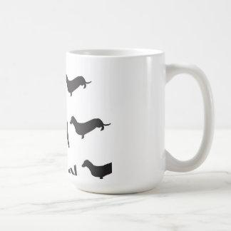 私は私のウィーナーのマグを愛します コーヒーマグカップ