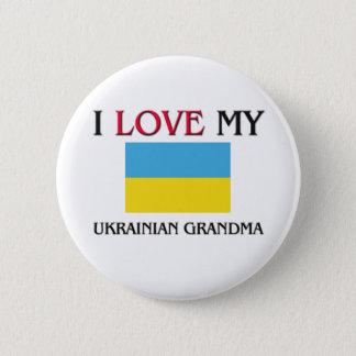 私は私のウクライナの祖母を愛します 5.7CM 丸型バッジ