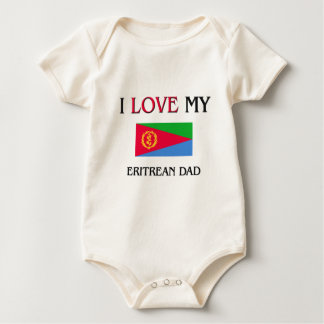 私は私のエリトレアのパパを愛します ベビーボディスーツ