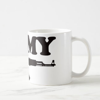 私は私のカラシニコフ自動小銃を愛します コーヒーマグカップ