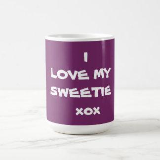 私は私のキャンディのxox -コーヒー・マグ-を創作者RjFxx.愛します コーヒーマグカップ