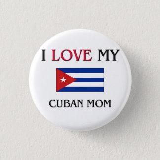 私は私のキューバのお母さんを愛します 3.2CM 丸型バッジ