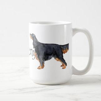 私は私のゴードンセッターを愛します コーヒーマグカップ