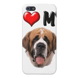 私は私のサンベルナール峠を愛します iPhone 5 CASE