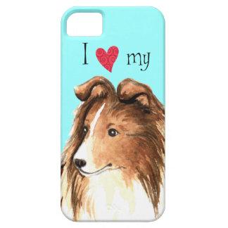 私は私のシェットランド・シープドッグを愛します iPhone SE/5/5s ケース
