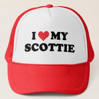 私は私のスコッチテリアを愛します キャップ