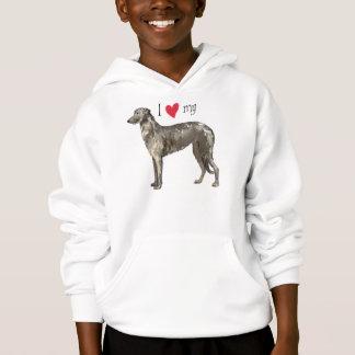 私は私のスコットランドのDeerhoundを愛します