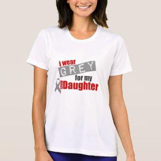 私は私のステップ娘のための灰色を身に着けています Tシャツ