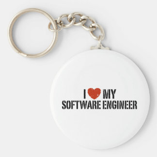 私は私のソフトウェアエンジニアを愛します キーホルダー