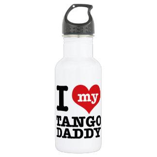 私は私のタンゴのダンサーのお父さんを愛します ウォーターボトル