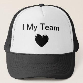 私は私のチームを愛します キャップ
