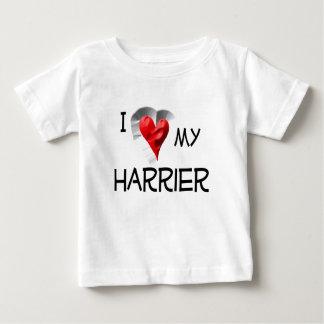 私は私のハリアーを愛します ベビーTシャツ