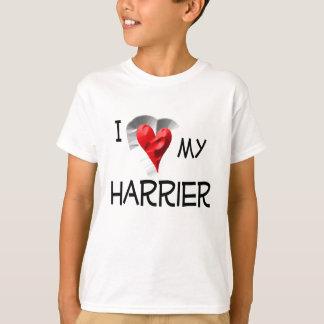 私は私のハリアーを愛します Tシャツ