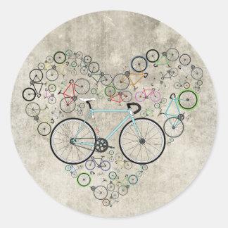 私は私のバイクを愛します ラウンドシール