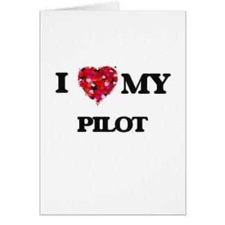 私は私のパイロットを愛します カード