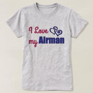 私は私のパイロット、ワイシャツを愛します Tシャツ