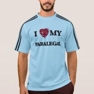 私は私のパラリーガルを愛します Tシャツ