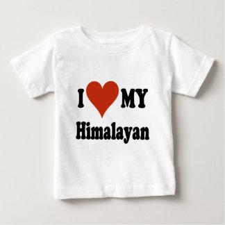 私は私のヒマラヤを愛します ベビーTシャツ