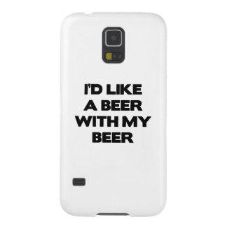 私は私のビールが付いているビールを頂きます GALAXY S5 ケース