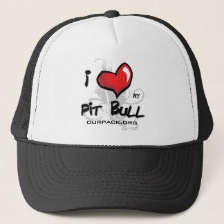 私は私のピット・ブル愛します! キャップ