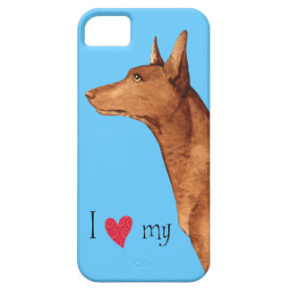 私は私のファラオの猟犬を愛します iPhone SE/5/5s ケース
