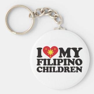 私は私のフィリピンの子供を愛します キーホルダー