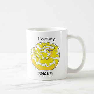 私は私のヘビを愛します! コーヒー・マグ2 コーヒーマグカップ