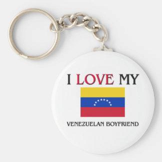 私は私のベネズエラのボーイフレンドを愛します キーホルダー