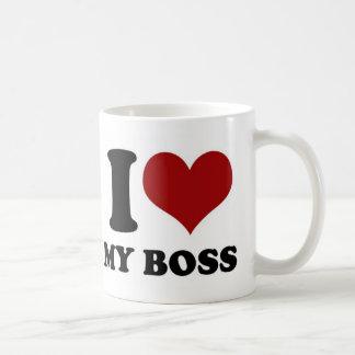 私は私のボス-マグ--を愛します コーヒーマグカップ