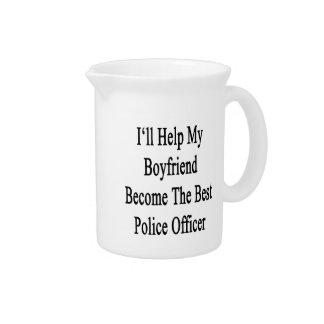 私は私のボーイフレンドが最も最高のな警察Offiになるのを救済します ピッチャー
