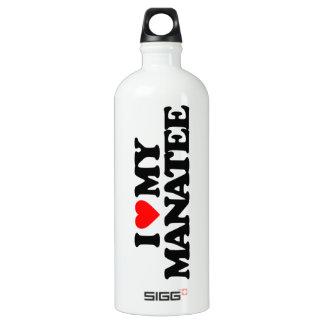 私は私のマナティーを愛します ウォーターボトル