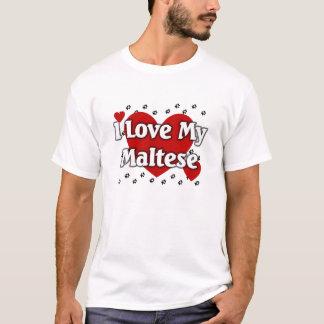 私は私のマルタを愛します Tシャツ