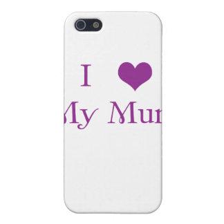 私は私のミイラのiPhoneの場合を愛します iPhone SE/5/5sケース