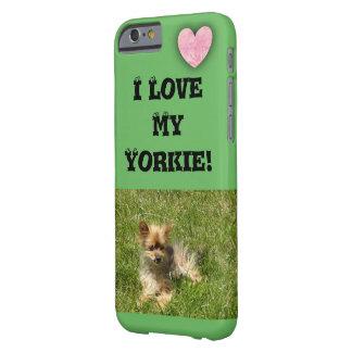 私は私のヨークシャーテリアを愛します! iPhone 6/6s、やっとそこに Barely There iPhone 6 ケース