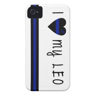 私は私のレオを愛します Case-Mate iPhone 4 ケース
