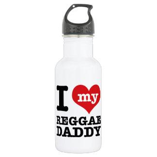 私は私のレゲエのダンサーのお父さんを愛します ウォーターボトル