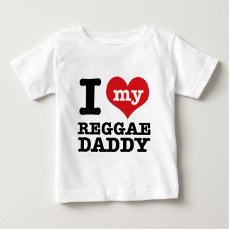 私は私のレゲエのダンサーのお父さんを愛します ベビーTシャツ