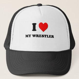 私は私のレスリング選手を愛します キャップ