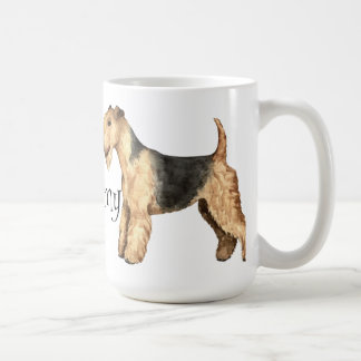 私は私のレークランドテリアを愛します コーヒーマグカップ
