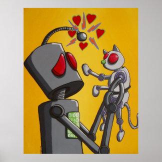 私は私のロボット子猫を愛します ポスター