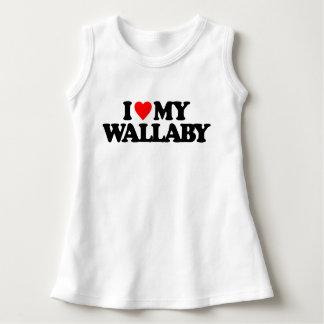 私は私のワラビーを愛します ドレス