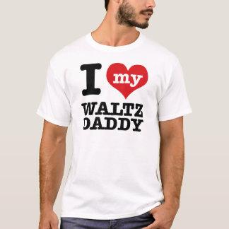 私は私のワルツのダンサーのお父さんを愛します Tシャツ
