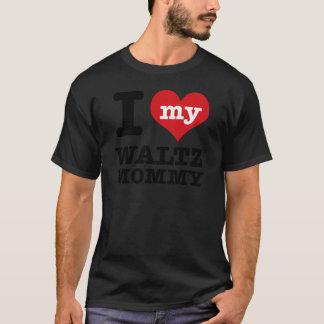 私は私のワルツのダンスのお母さんを愛します Tシャツ