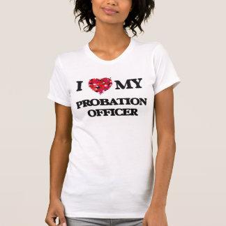 私は私の保護観察官を愛します Tシャツ