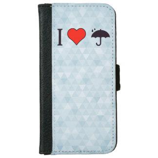 私は私の保険プランを愛します iPhone 6/6S ウォレットケース