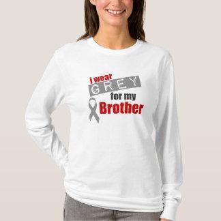 私は私の兄弟のための灰色を身に着けています Tシャツ