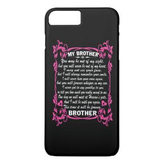 私は私の兄弟を愛します iPhone 8 PLUS/7 PLUSケース