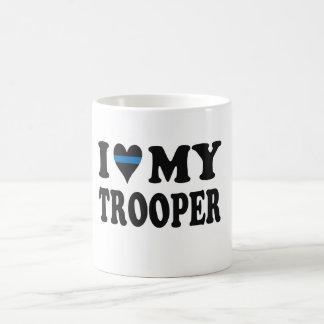 私は私の兵士を愛します! コーヒーマグカップ